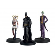 Batman Arkham Asylum Hero Collection Statues 1/16 3-Pack 10th Anniversary Box 13 cm