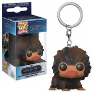 Fantastic Beasts 2 Pocket POP! Vinyl Keychain Baby Niffler (Brown Multi) 4 cm