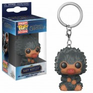 Fantastic Beasts 2 Pocket POP! Vinyl Keychain Baby Niffler (Grey) 4 cm