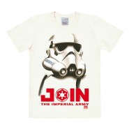 Star Wars Join The Imperial Army T-Shirt White (SIZE: M)