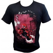 Deadpool Shot Gun T-Shirt Black (Size: S)