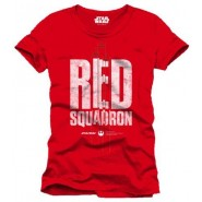 Star Wars Rogue One Red Squadron T-Shirt Red (SIZE:M)