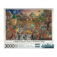 The Beatles Jigsaw Puzzle A Magical Mystery Tour of 100 Beatles Songs (3000 pieces)