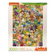 Nickelodeon Jigsaw Puzzle Cast (3000 pieces)
