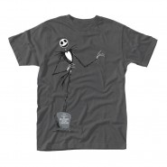 Nightmare Before Christmas T-Shirt Grey Pose (SIZE: S)