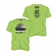 Star Wars Rogue One Protect The Galactic Empire T-Shirt Green (Size: L)