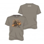 Star Wars Rogue One Rebel Group T-Shirt Grey (Size: M)