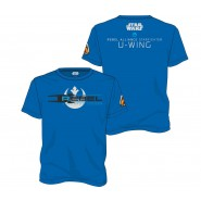 Star Wars Rogue One Squadron Leader T-Shirt Blue (Size: L)
