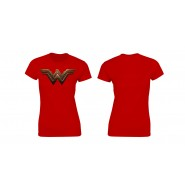 DC Universe Ladies T-Shirt Wonder Woman Logo (Size: M)