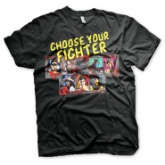 Mortal Kombat Choose Your Fighter T-Shirt Black (SIZE: L)
